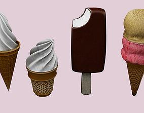 ice cream 3D cornet