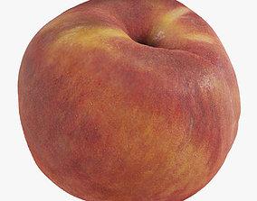 Peach 3D asset