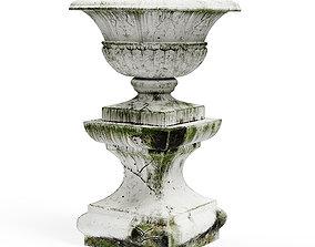 Old vase exterior 3D