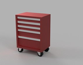 Tool Cabinet - Car Garage scale 1-43 - Diorama Garage - 1