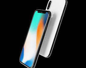 Apple iPhone x 3D model