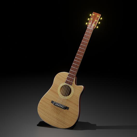 Real Guitar Model