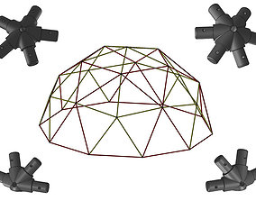 Dome V2 Connector Kit 3D printable model