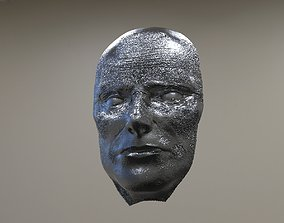 Mask baroque Dark 3D
