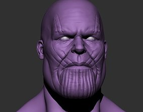 3D printable model cartoon Thanos