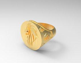 Lion - Ring 3D Print Model