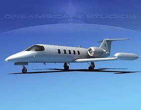 Gates Bombardier Learjet 35 V00 3D model
