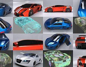 Sport Car Pack 3D