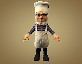 Cook or Kitchener 3D model