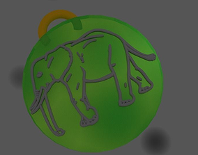 Pendant set 3D print model