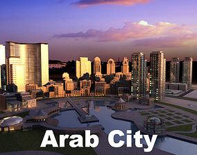 Arab city 3D model