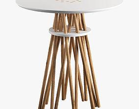 3D model Side tables x 5