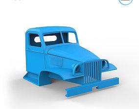 GMC CCKW 352 Cabin 3D print model