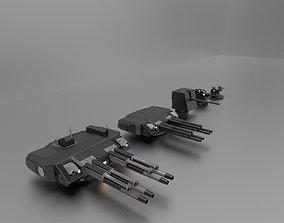 Ship Weapon 3D model
