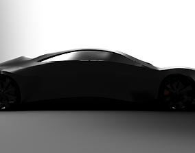 car Electric Sports Car Concept 3D print model