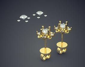 3D printable model Simple Classic Golden Flower Motif 1