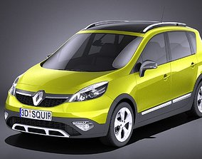 3D Renault Scenic Xmod 2016 VRAY