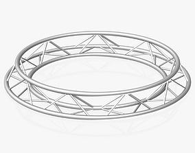 3D model Circle Triangular Truss Full diameter 200cm