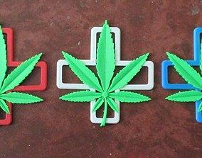 Dual Extrusion- Medical Marijuana 3D print model