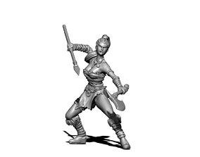 Huntress 3D print model
