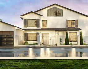 3D The Louvered House house