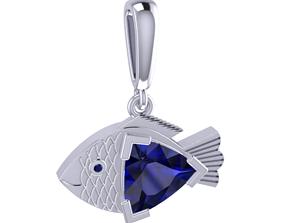 Fish Charm 3D printable model