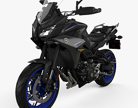 3D Yamaha MT-09 Tracer 2018
