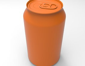 3D printable model can for drinks