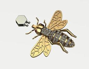3D printable model Bee pendant bugs