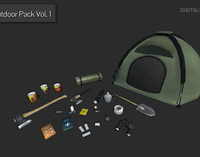 Outdoor Pack Vol 1 3D asset