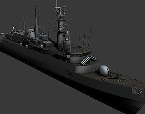 Amazon Class Destroyer Type-21 3D asset