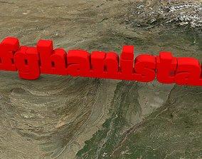 Afghanistan 3D asset