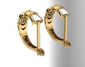 3D printable model earings zbrushjewelry