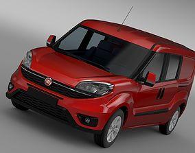 3D Fiat Doblo Maxi Combi 263 2017
