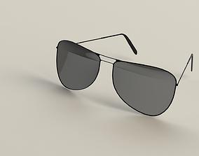 Aviator Sunglasses 3D model