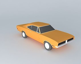 muscle Dodge Charger 3D