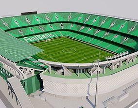 Estadio Benito Villamarin - Real Betis 3D asset