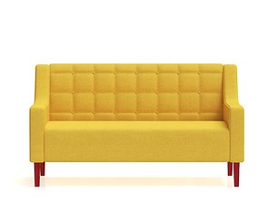 3D model Grand Single and Double Couch