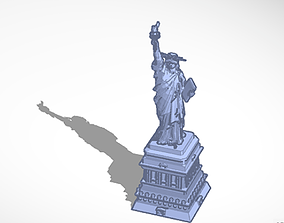 3D printable model art The Statue of Liberty