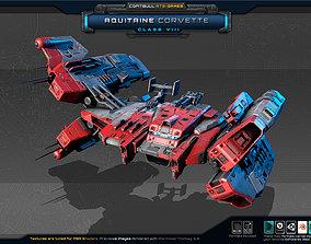 NEXTGEN - Aquitaine Corvette - Class VIII 3D model