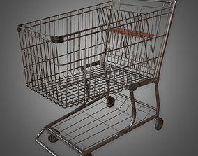 Shopping Cart - PBR Game Ready 3D model