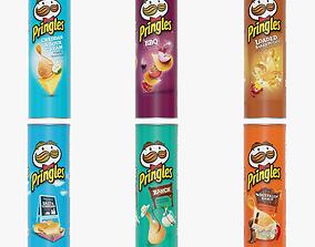 3D model Pringles Potato Chips snack