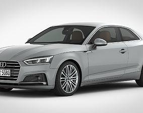 3D Audi A5 Coupe 2018