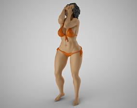 3D print model Ruined Woman