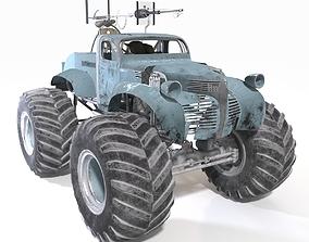 Bigfoot monster truck 3D model