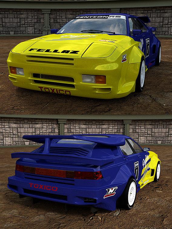 YSUN CENTZON FL-6 RS 964 RACE CAR