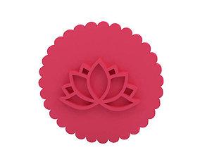 cookie Cookie stamp Stamp 3D printable model
