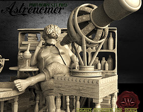 3D print model Astronomer