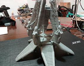 3D printable model Lust Space Warriors Custom drop pod