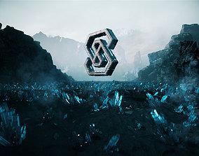 3D Crystal ground